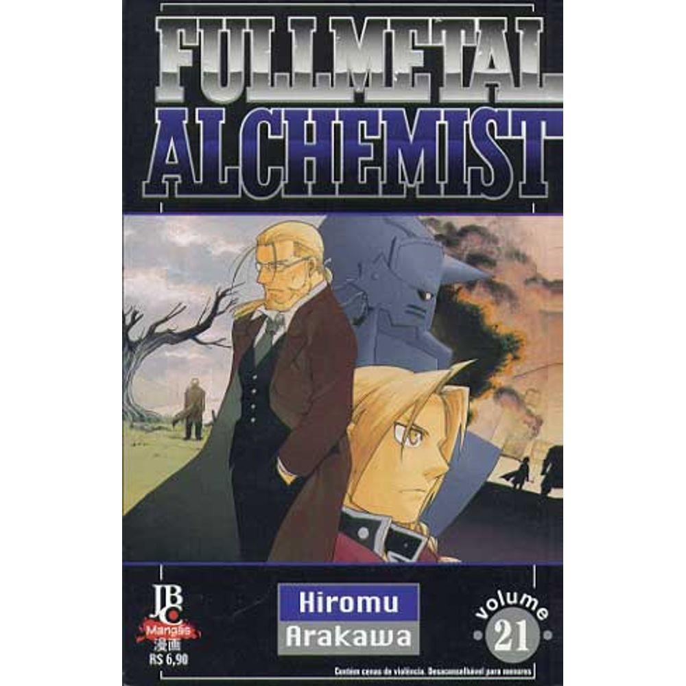 Fullmetal Alchemist - 1ª Edição - Volume 21 - Usado