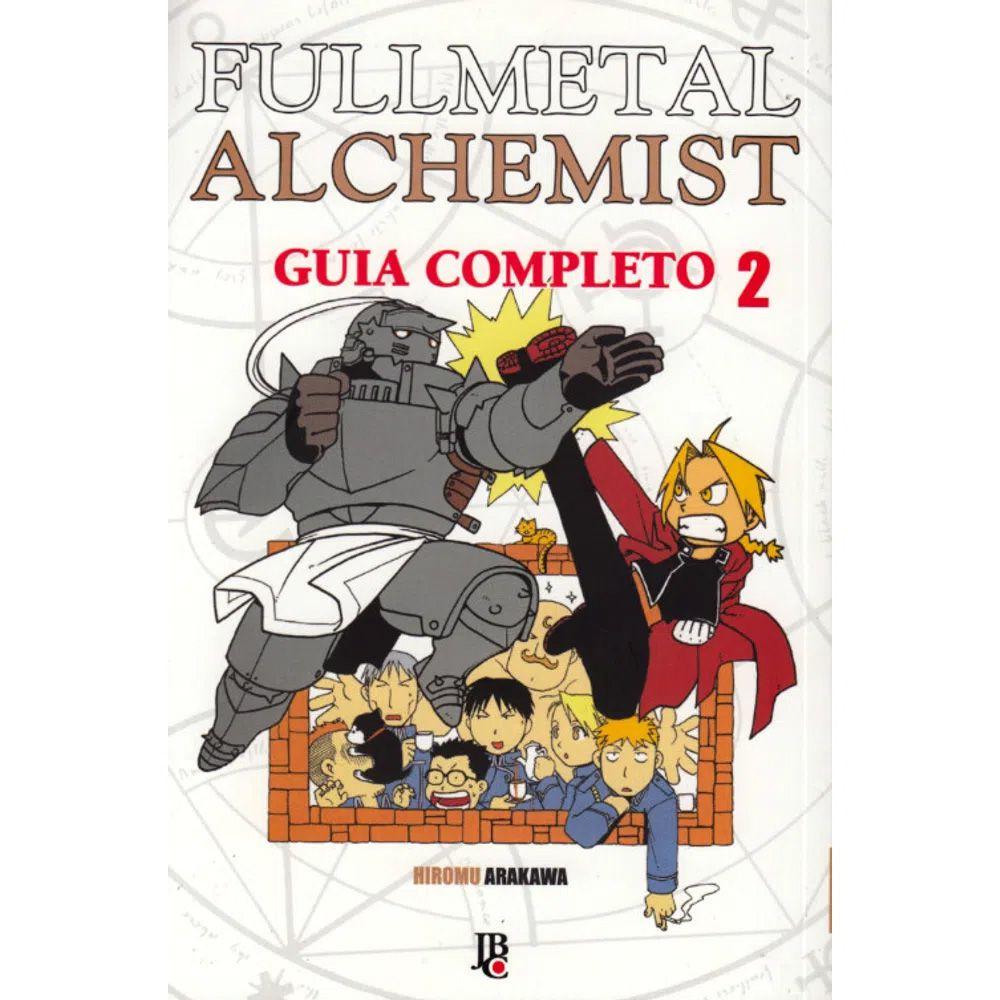 Fullmetal Alchemist - Guia Completo - Volume 02 - Usado