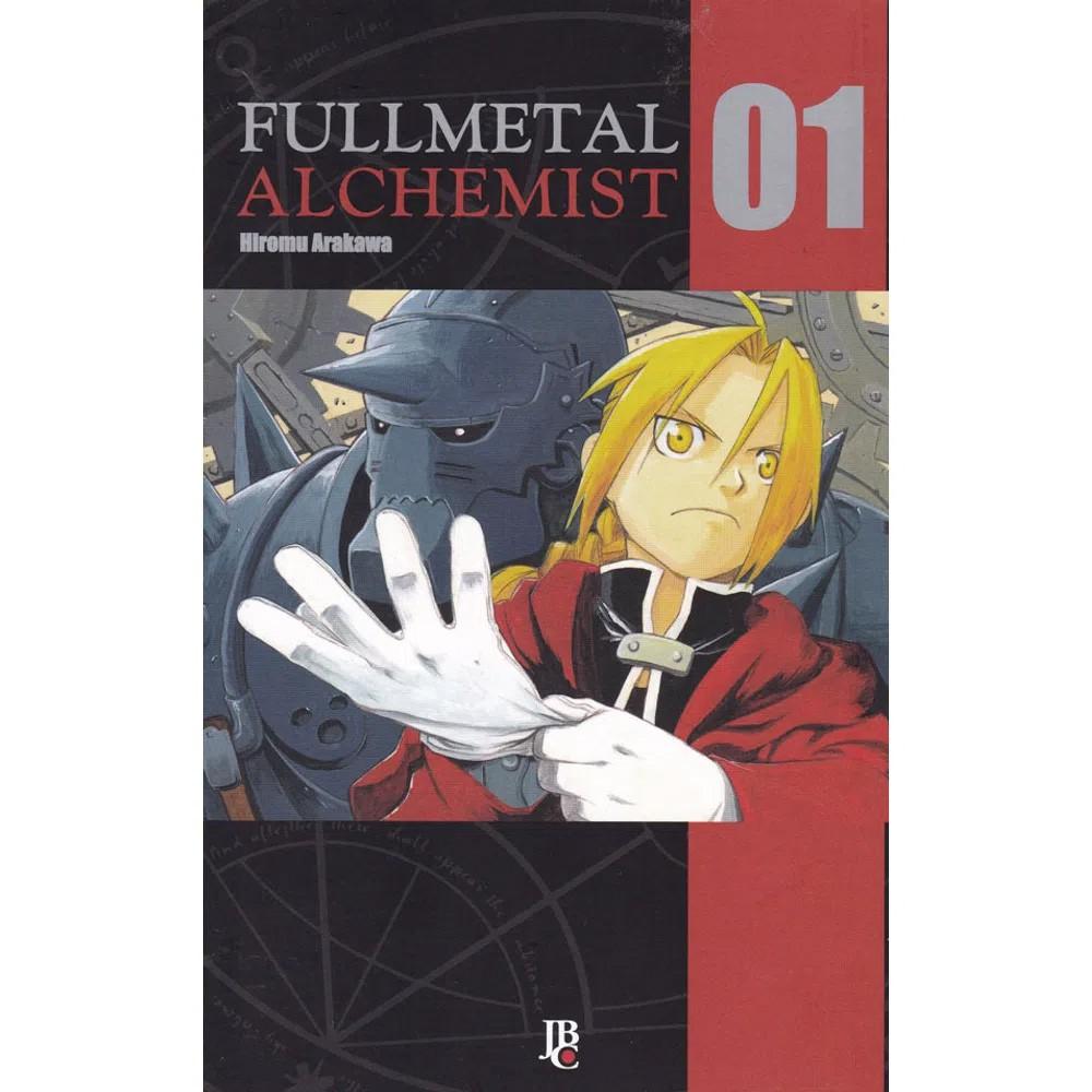 Fullmetal Alchemist  - Volume 01 - Usado
