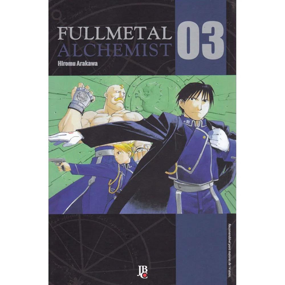 Fullmetal Alchemist  - Volume 03 - Usado