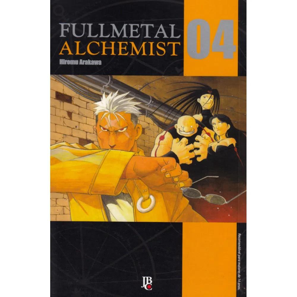 Fullmetal Alchemist  - Volume 04 - Usado