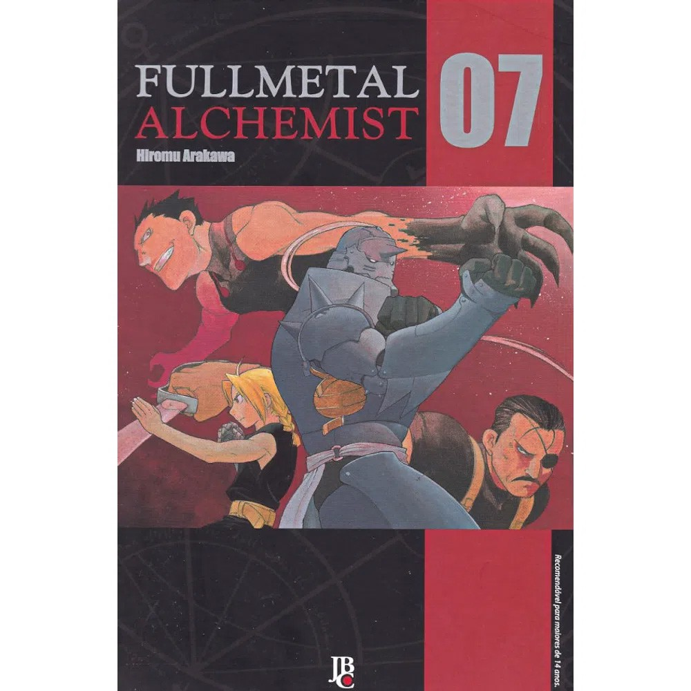 Fullmetal Alchemist  - Volume 07 - Usado