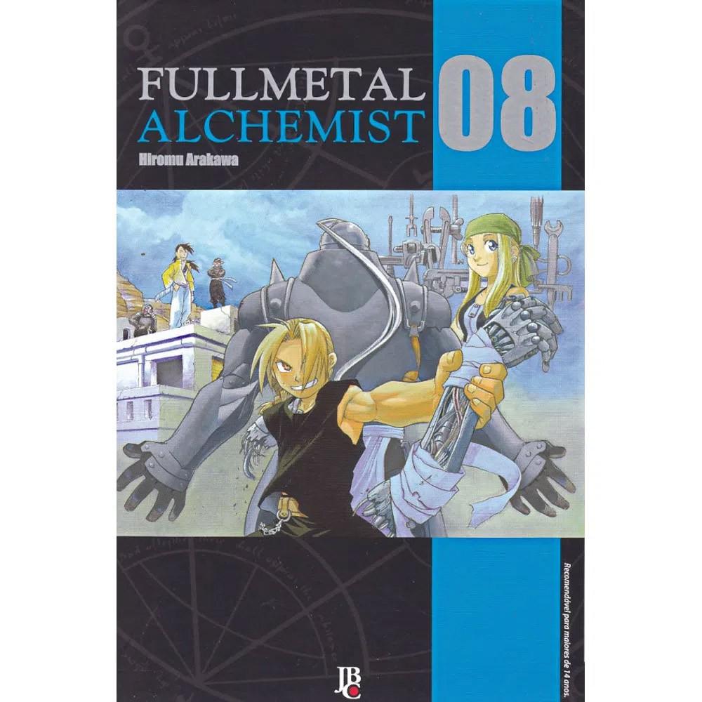 Fullmetal Alchemist  - Volume 08 - Usado