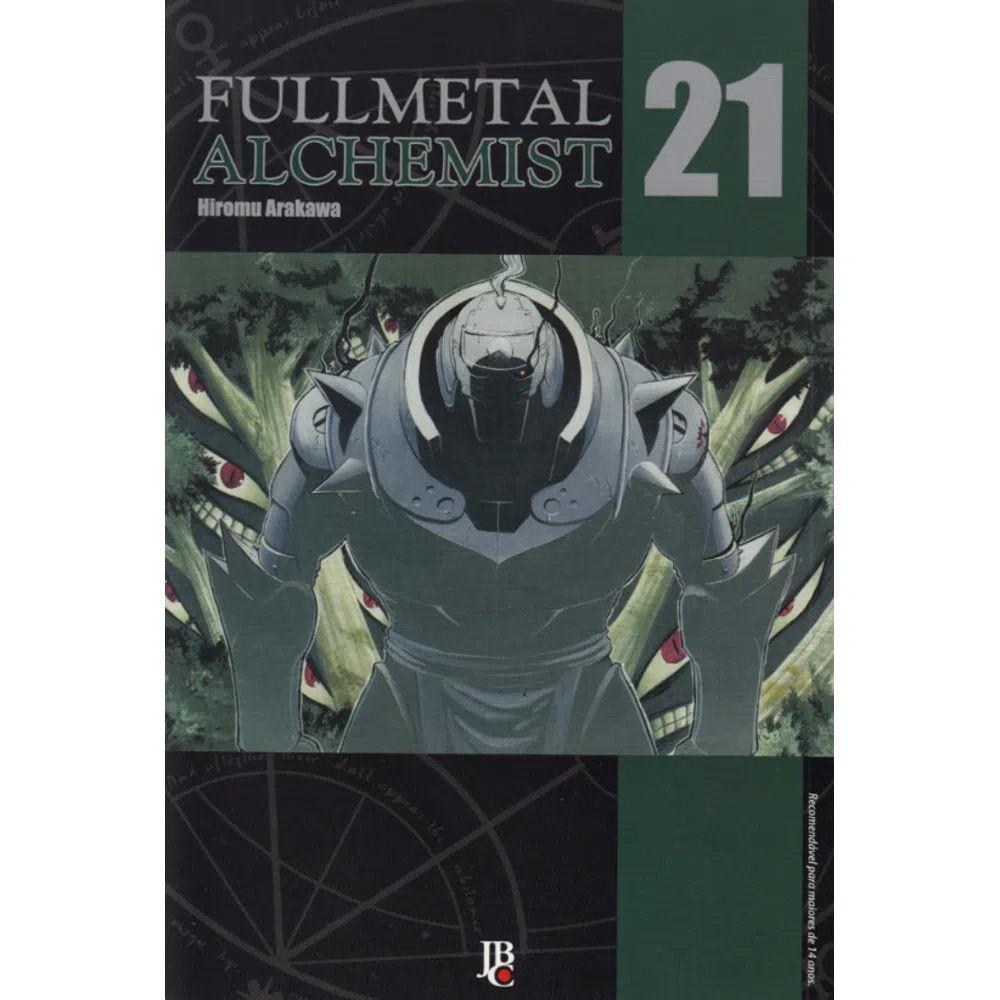 Fullmetal Alchemist  - Volume 21 - Usado