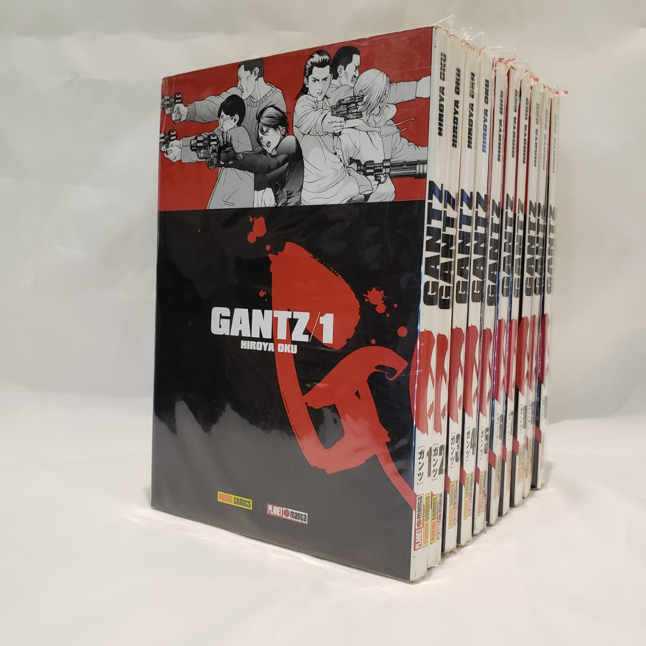 Gantz - 1 ao 10 - Pack