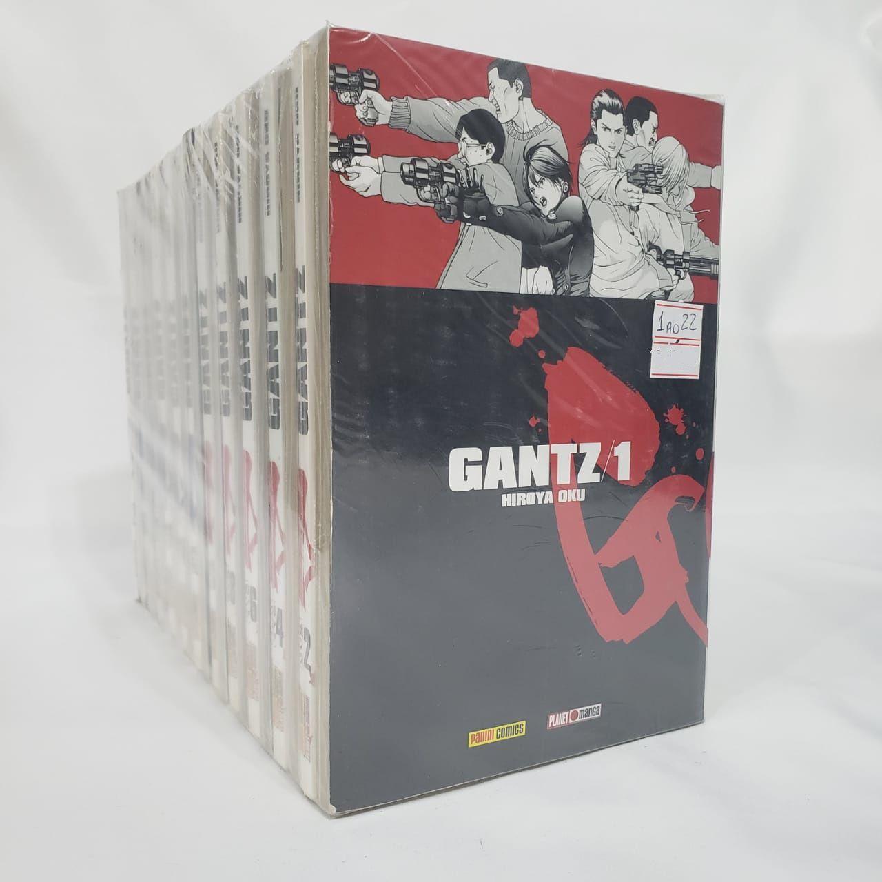 Gantz - 1 ao 22 - Pack