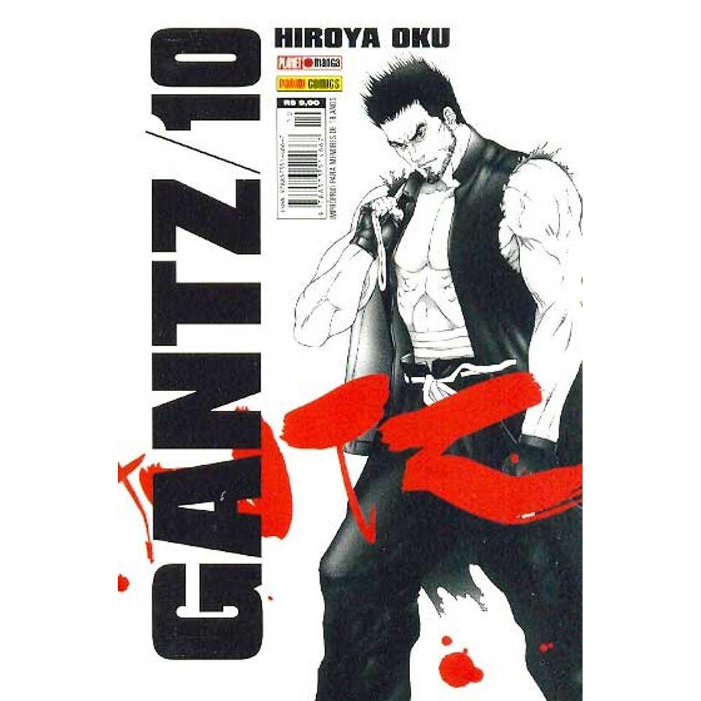 Gantz - Volume 10 - Usado