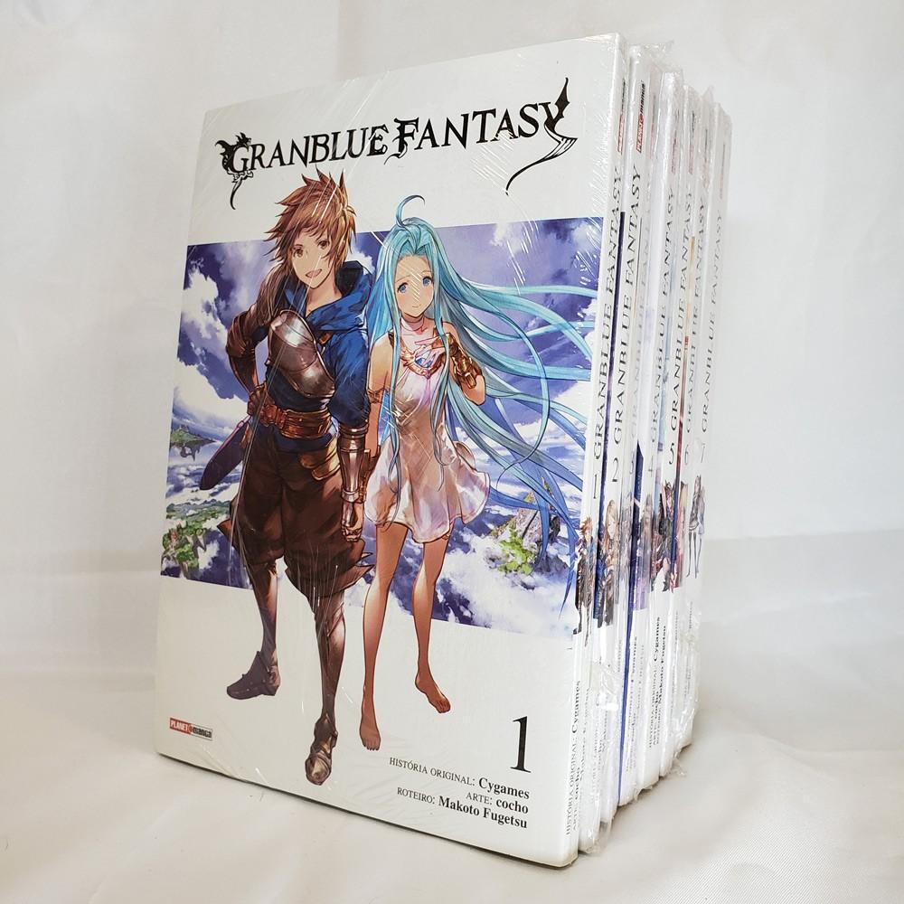 Granblue Fantasy - 1 ao 7 - Coleção Completa - Pack