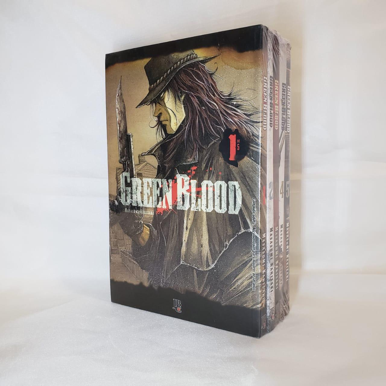 Green Blood - 1 ao 5 - Coleção Completa - Pack
