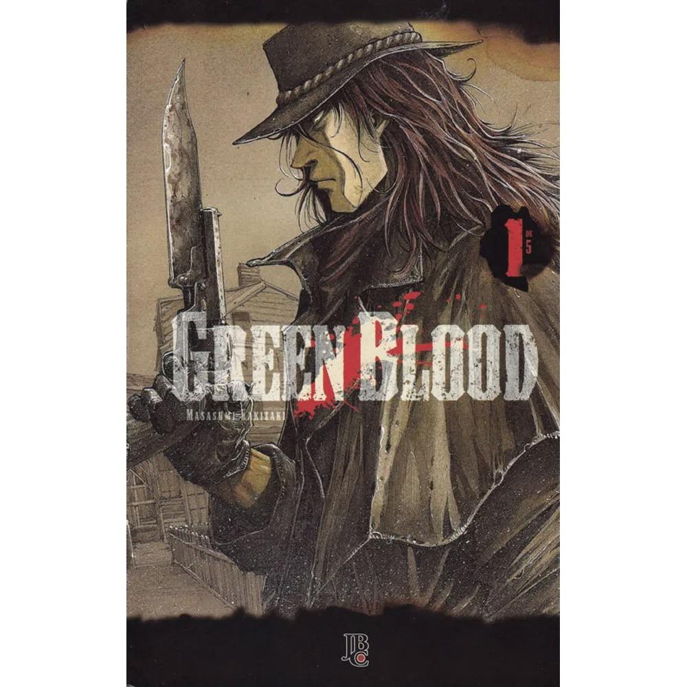 Green Blood - Volume 01 - Usado