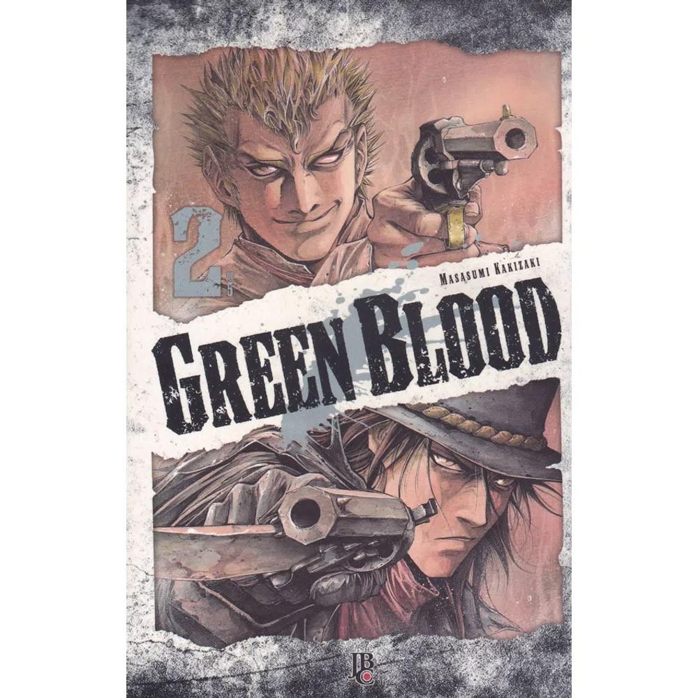 Green Blood - Volume 02 - Usado