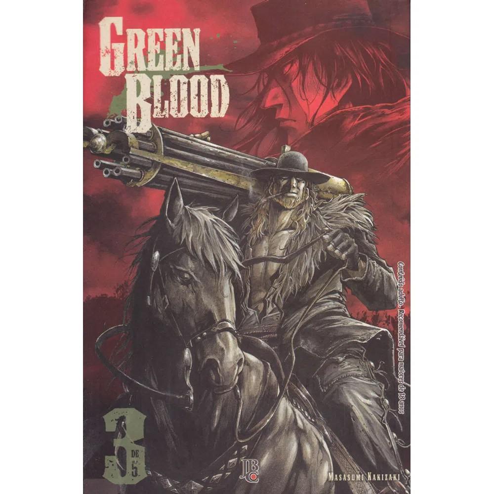 Green Blood - Volume 03 - Usado