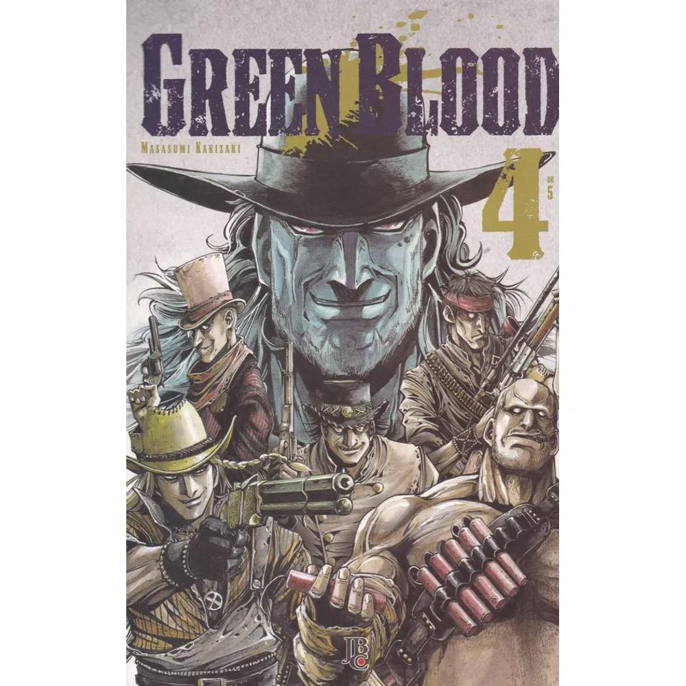 Green Blood - Volume 04 - Usado