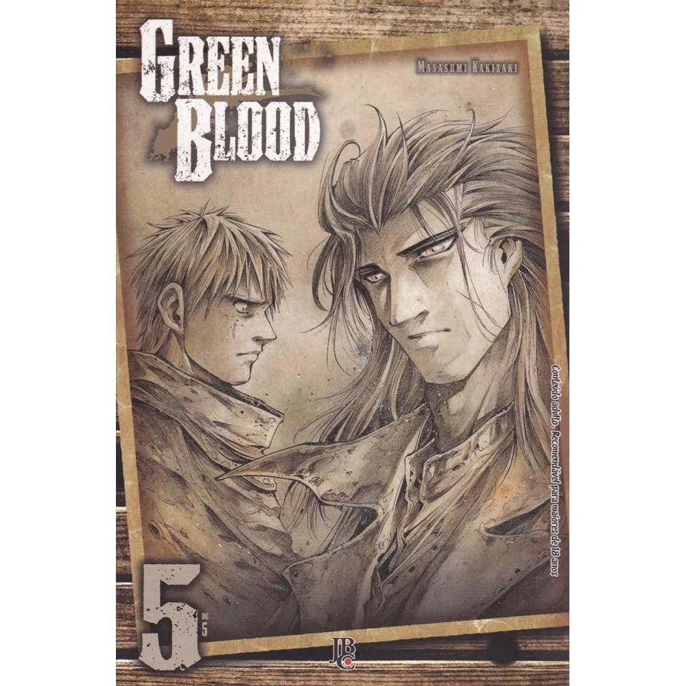 Green Blood - Volume 05 - Usado