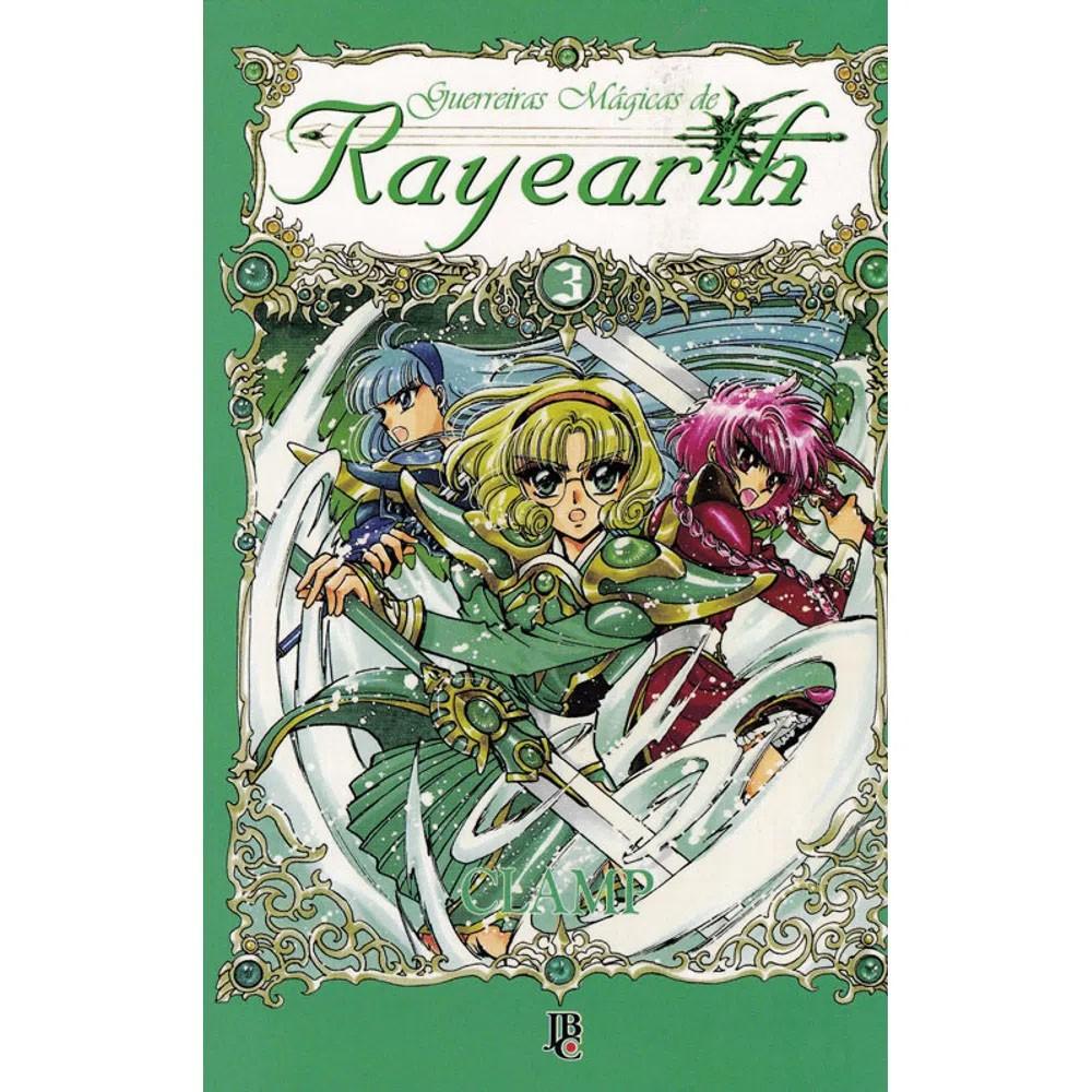 Guerreiras Mágicas de Rayearth - Volume 03 - Usado