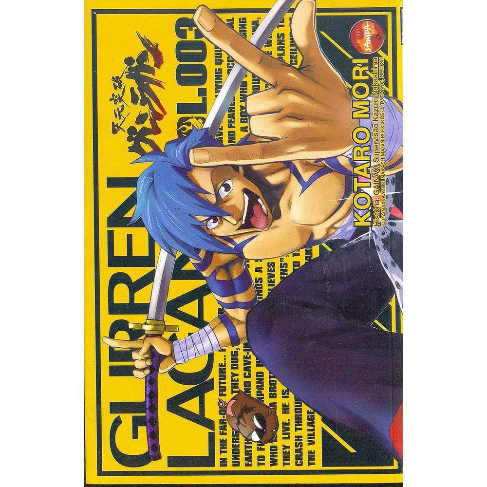 Gurren Lagann - Volume 03 - Usado