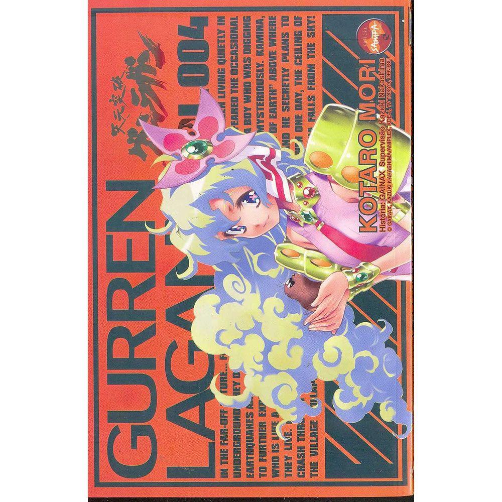 Gurren Lagan - Volume 04 - Usado