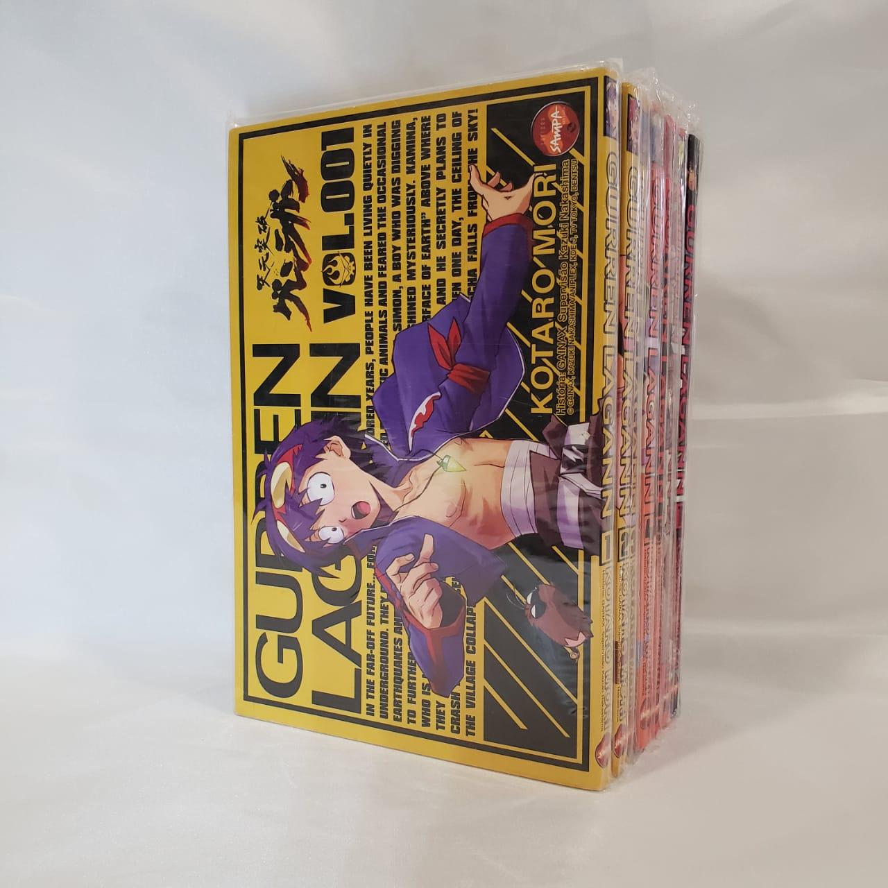 Gurren Lagann - 1 ao 7 - Pack
