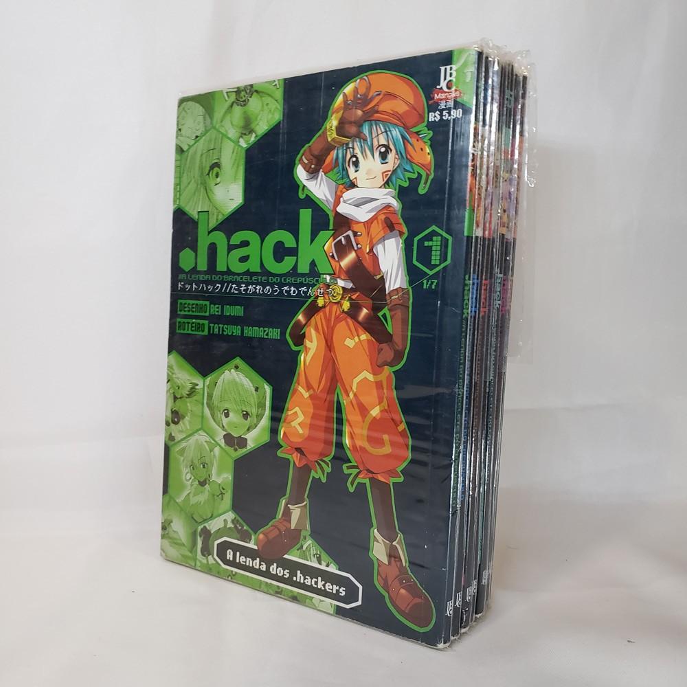 .Hack - 1 ao 7 - Coleção Completa - Pack