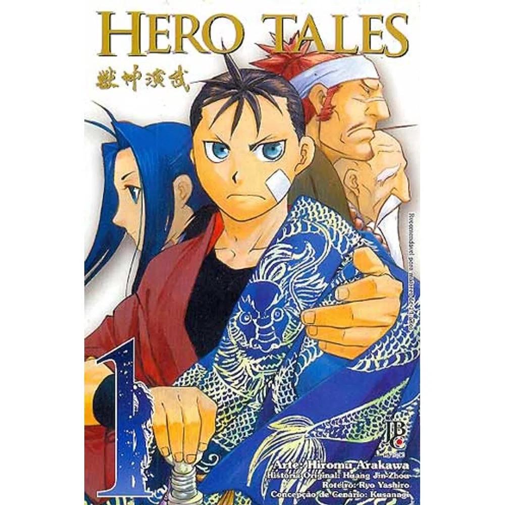 Hero Tales - Volume 01 - Usado
