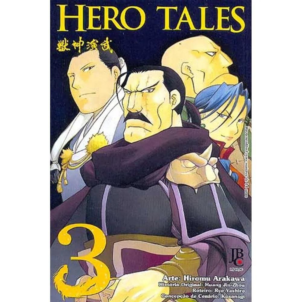 Hero Tales - Volume 03 - Usado