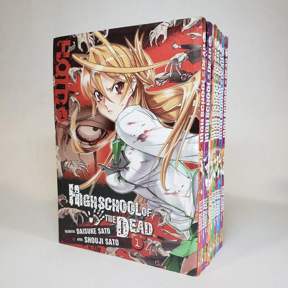 Highschool of The Dead - 1 ao 7 - Coleção Completa - Pack
