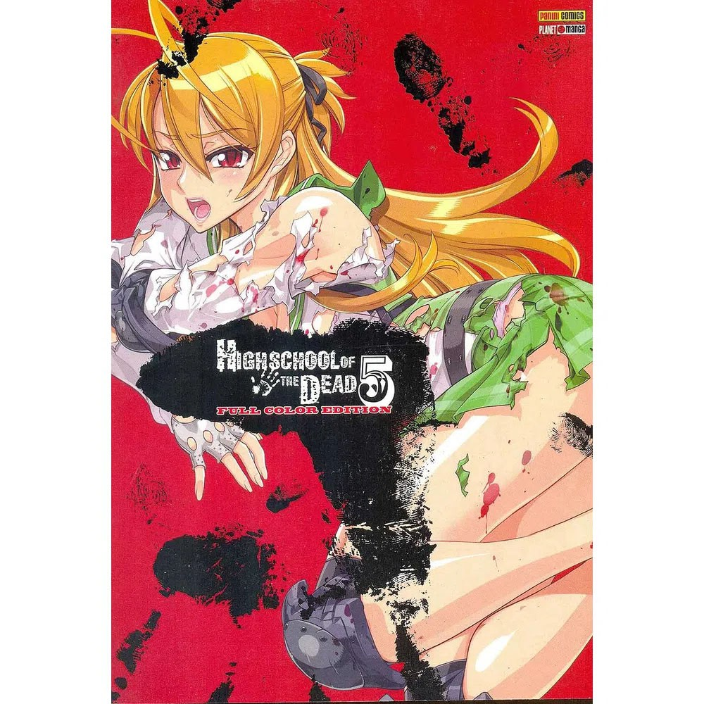 Highschool of The Dead Full Color Edition - Volume 05 - Usado
