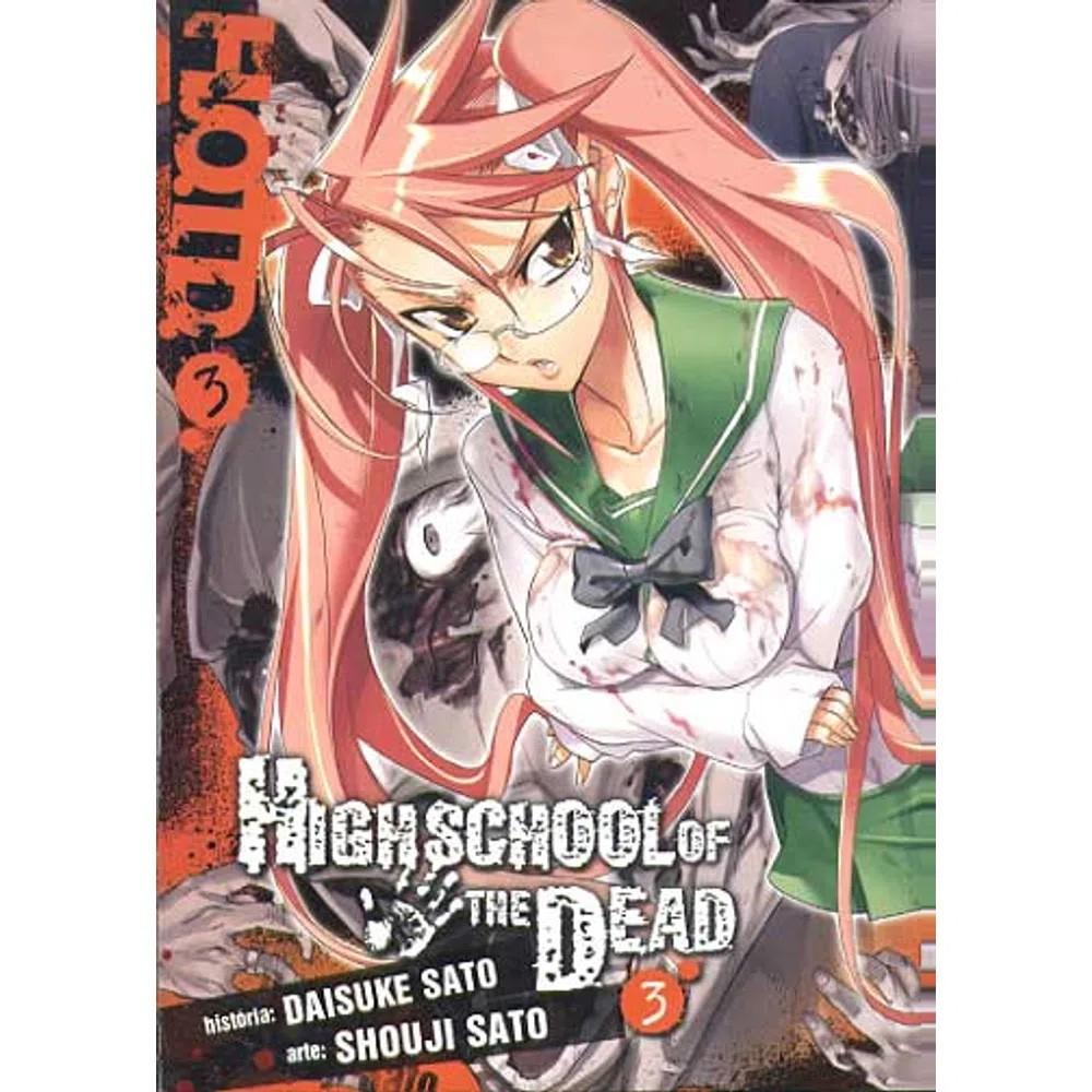 Highschool of The Dead - Volume 03 - Usado
