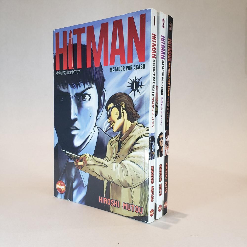Hitman Matador Por Acaso - 1 ao 3 - Primeira Temporada - Coleção Completa - Box