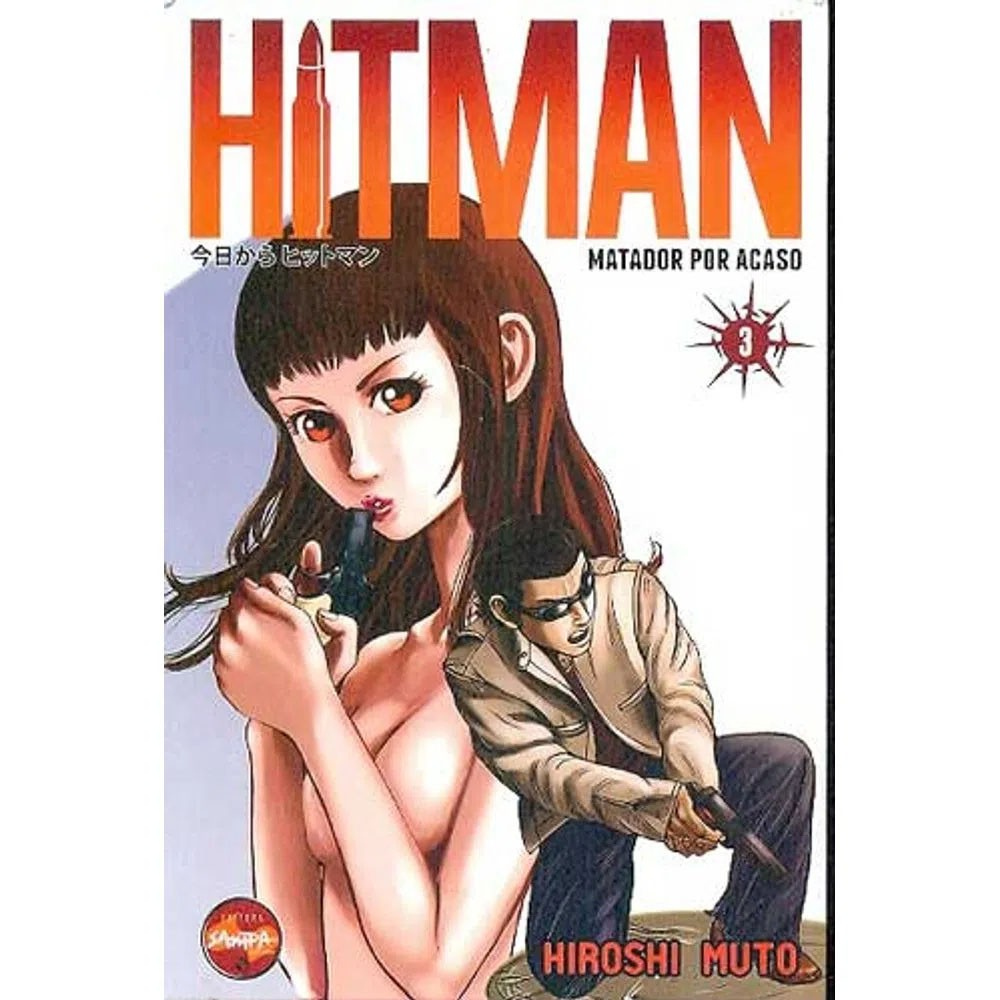 Hitman Matador Por Acaso - Volume 03 - Usado