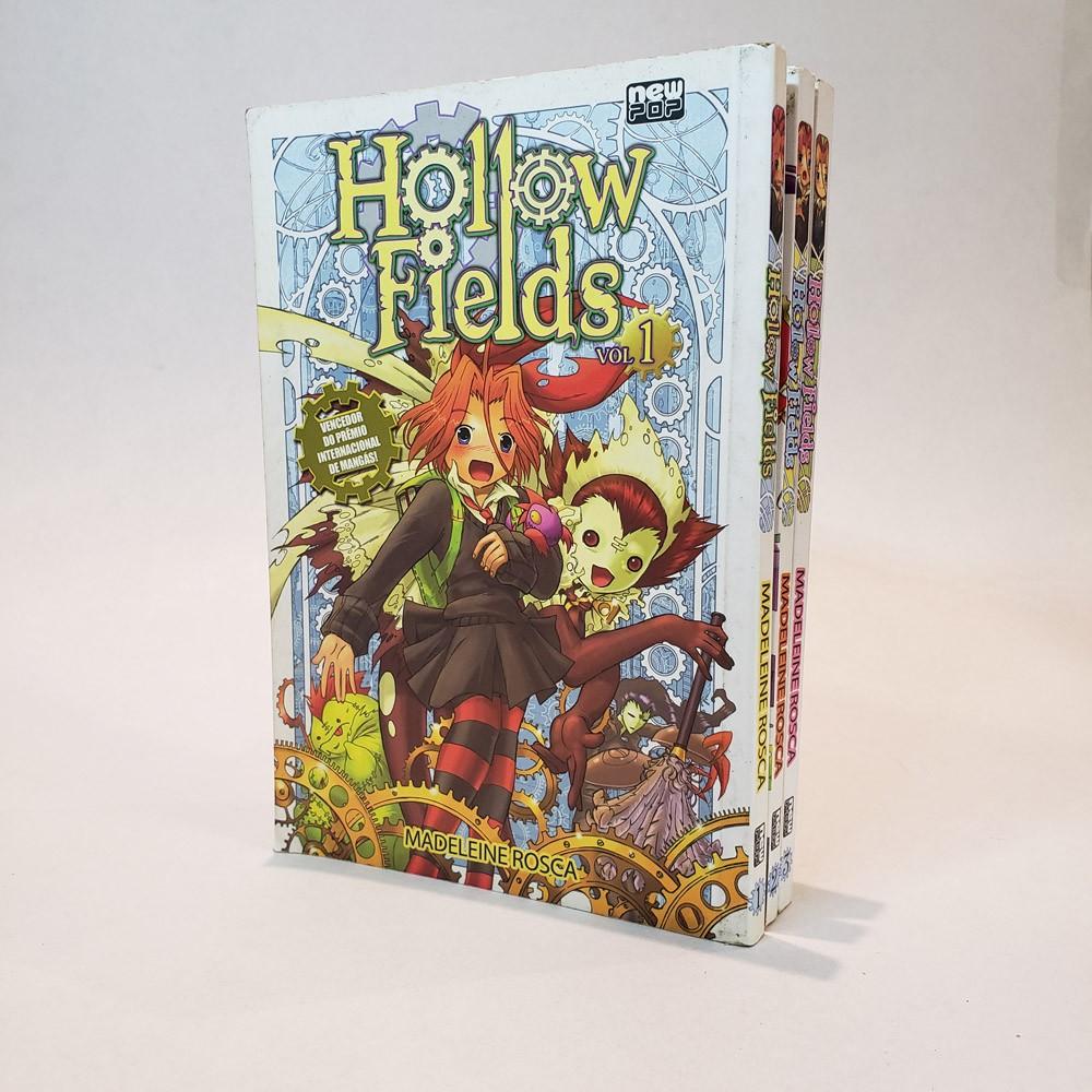 Hollow Fields - 1 ao 3 - Coleção Completa - Pack