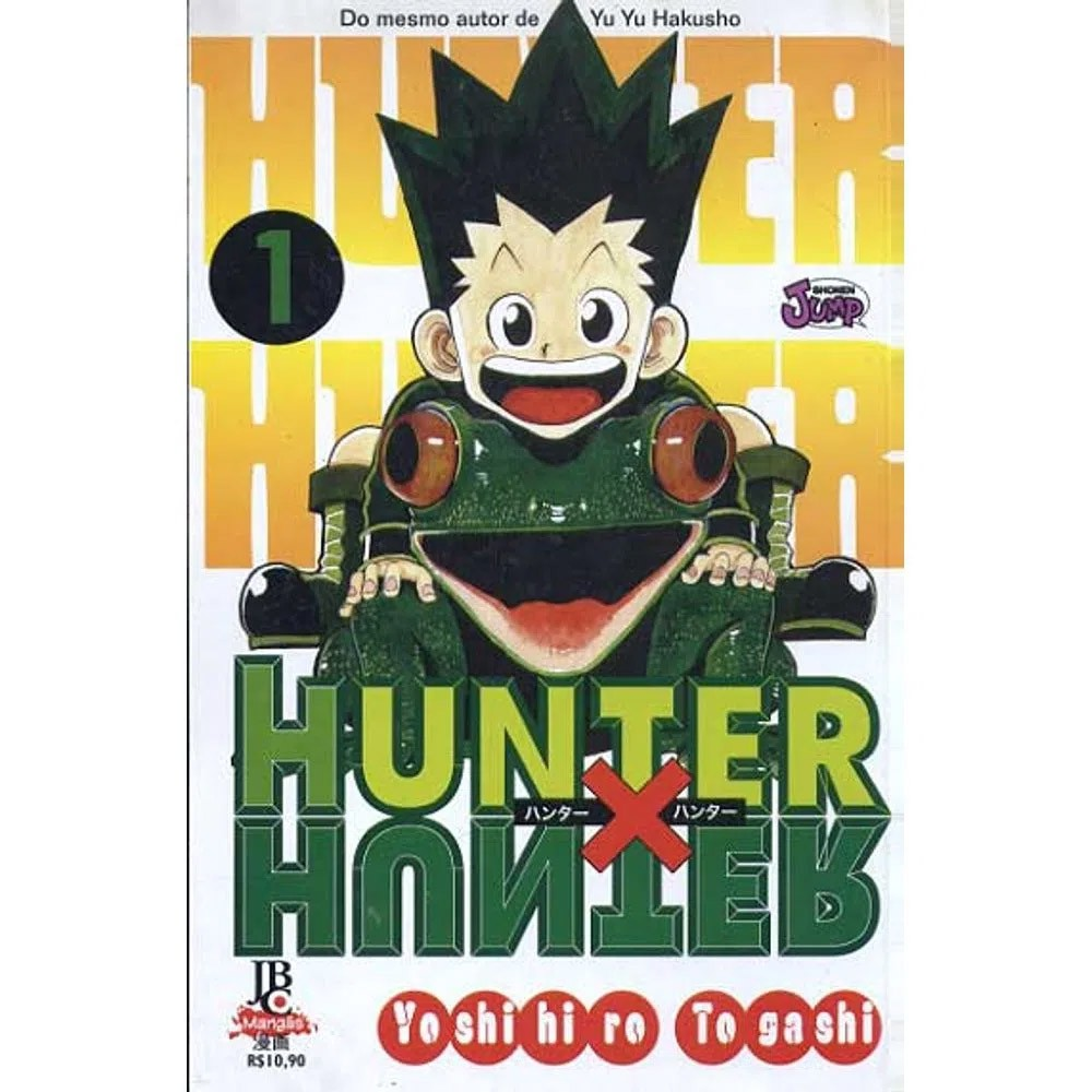 Hunter x Hunter - Volume 01 - Usado