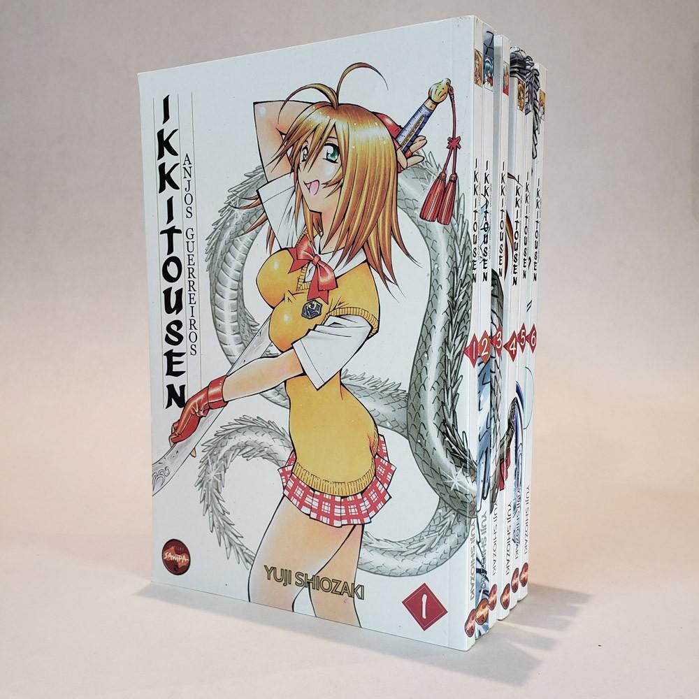 Ikkitousen Anjos Guerreiros - 1 ao 6 - Coleção Completa - Pack