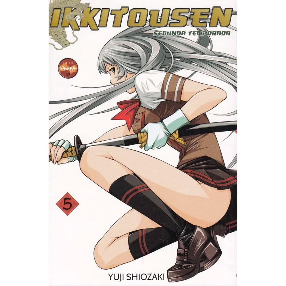 Ikkitousen Anjos Guerreiros - Segunda Temporada - Volume 05 - Usado