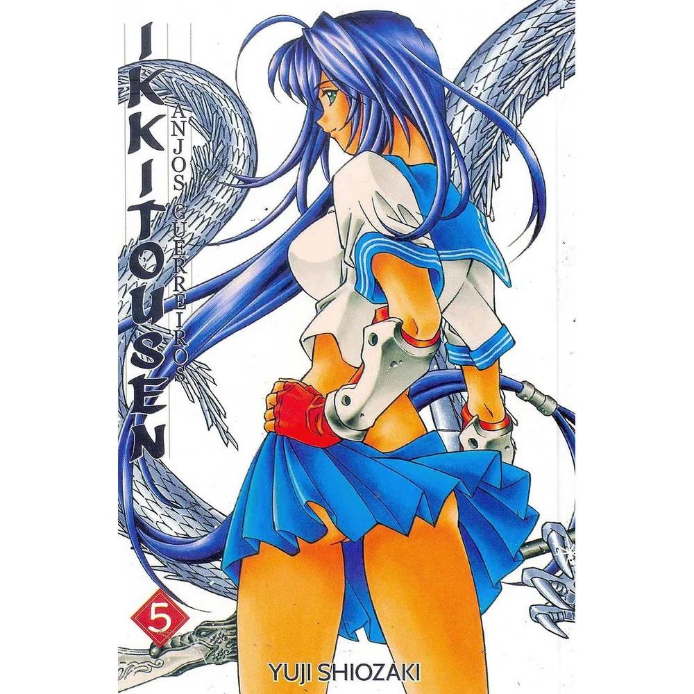 Ikkitousen Anjos Guerreiros - Volume 05 - Usado