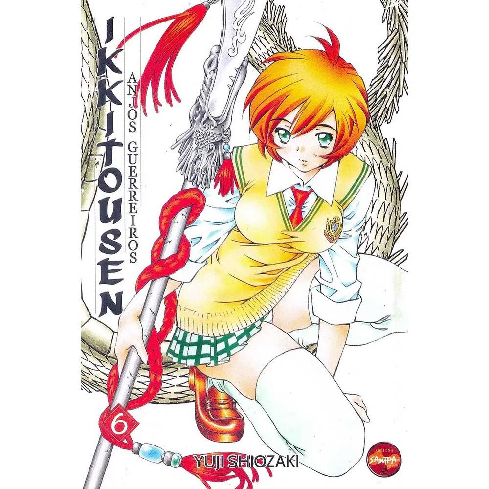 Ikkitousen Anjos Guerreiros - Volume 06 - Usado