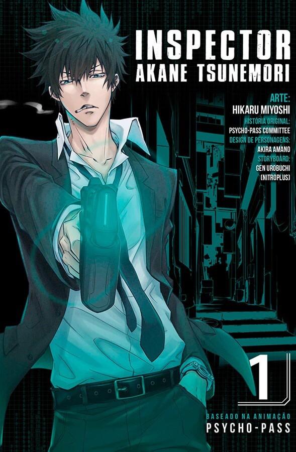 Inspector Akane Tsunemori - Psycho-Pass - Volume 01