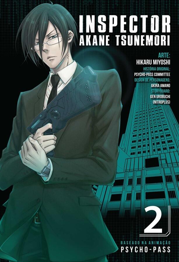 Inspector Akane Tsunemori - Psycho-Pass - Volume 02