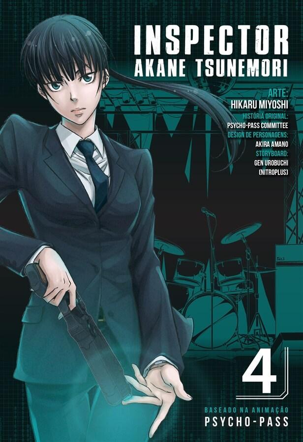 Inspector Akane Tsunemori - Psycho-Pass - Volume 04 - Usado