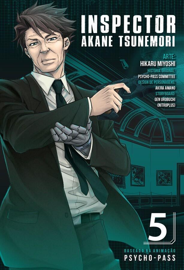 Inspector Akane Tsunemori - Psycho-Pass - Volume 05 - Usado