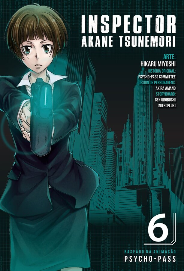 Inspector Akane Tsunemori - Psycho-Pass - Volume 06