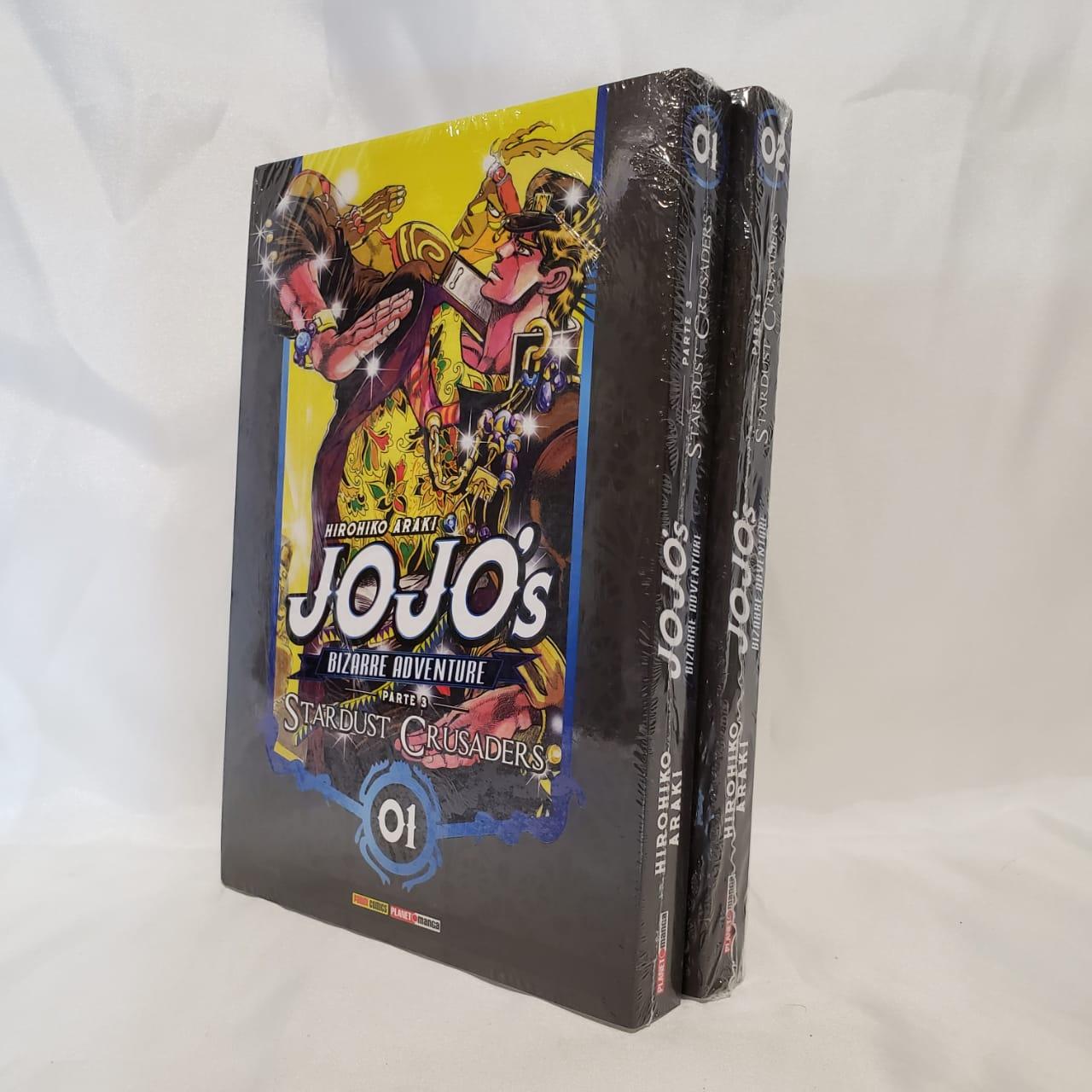 Jojo's Bizarre Adventure Stardust Crusaders - 1 e 2 - Pack