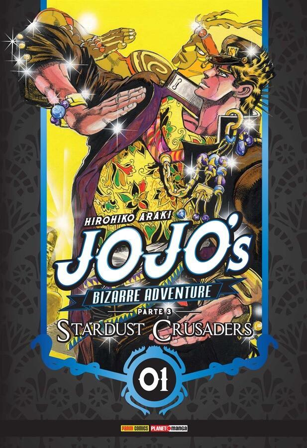 Jojo's Bizarre Adventure Stardust Crusaders - Volume 01 - Usado