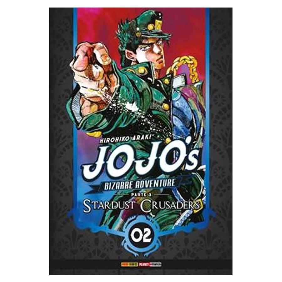 Jojo's Bizarre Adventure Stardust Crusaders - Volume 02 - Usado