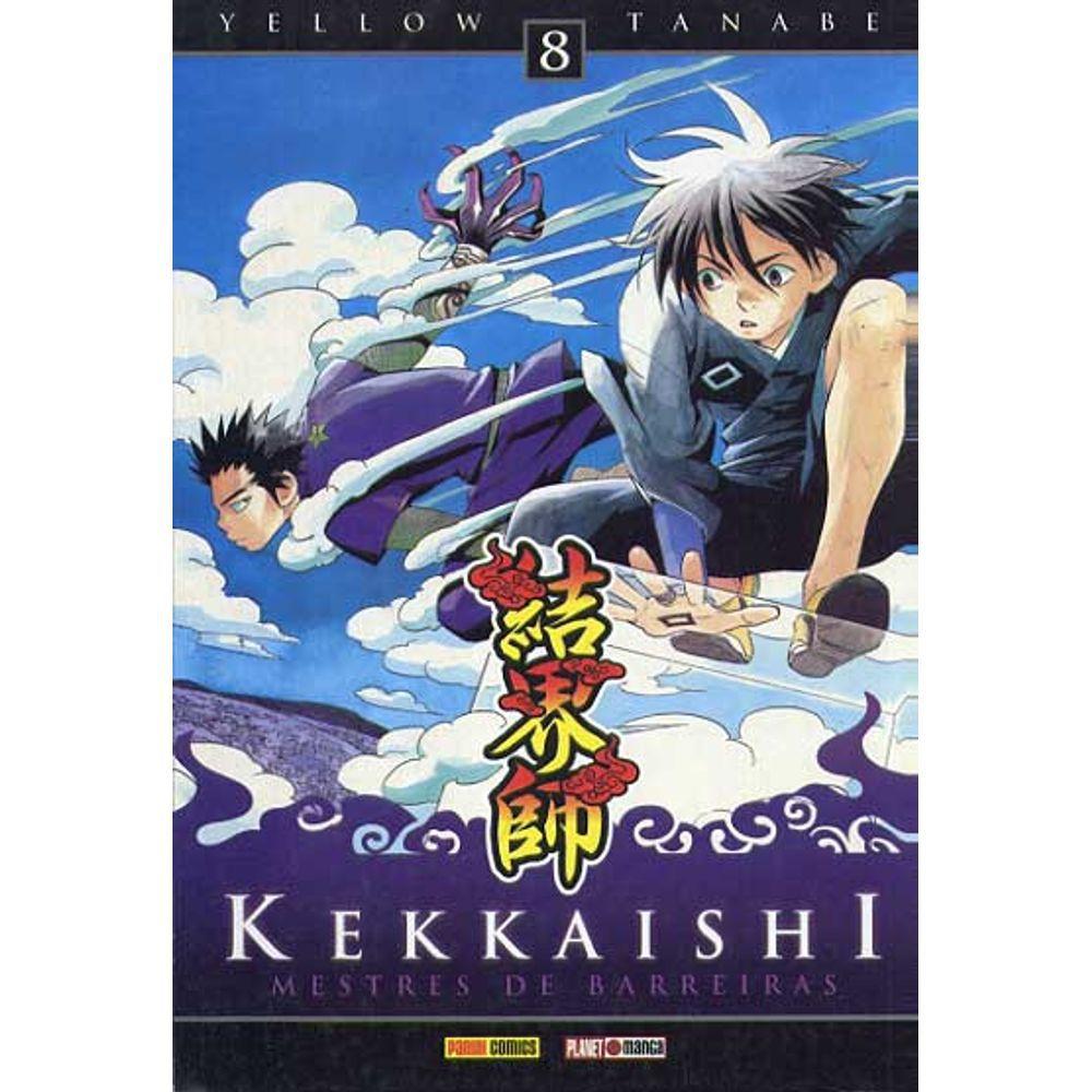 Kekkaishi Mestre de Barreiras - Volume 08 - Usado