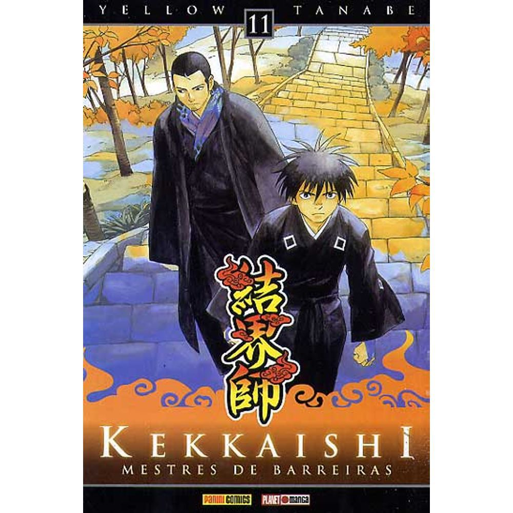 Kekkaishi Mestre de Barreiras - Volume 11 - Usado