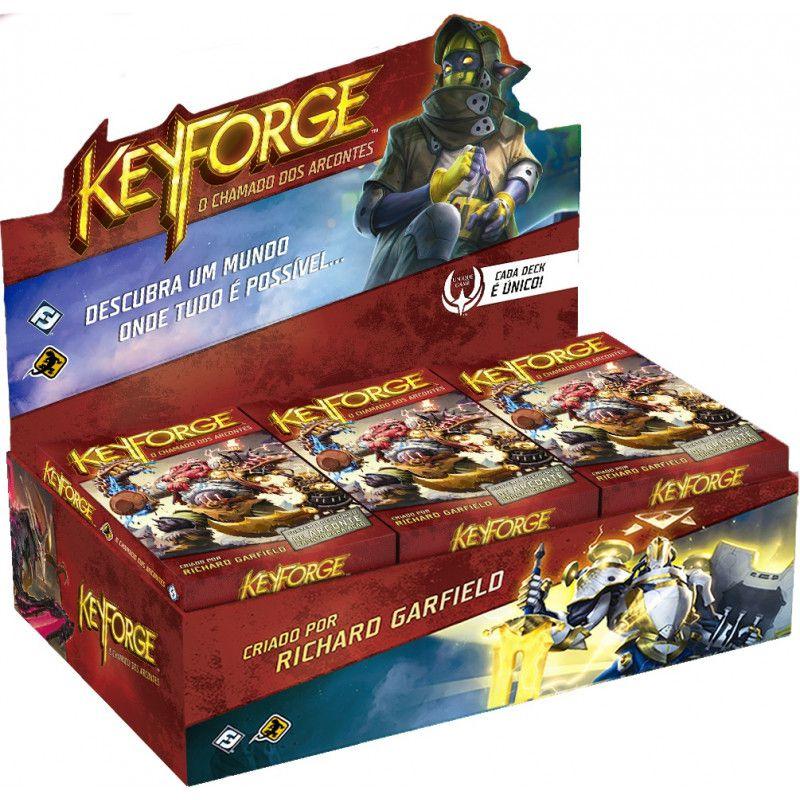 Keyforge: O Chamado dos Arcontes (Deck Display)