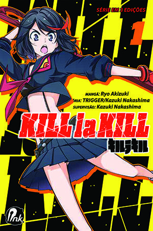 Kill la Kill - Volume 01 - Usado