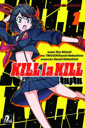 Kill la Kill - Volume 01 - Usado