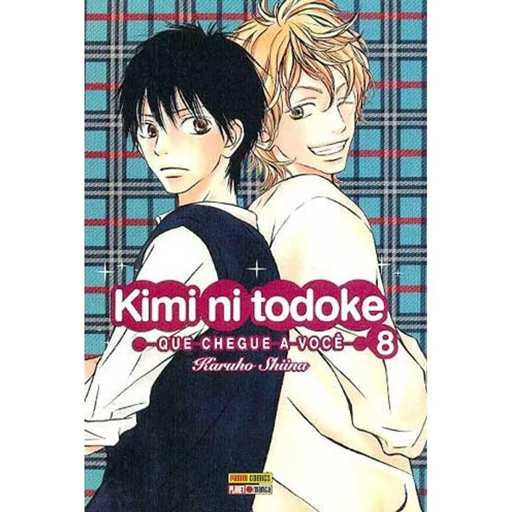 Kimi ni Todoke - Volume 08 - Usado